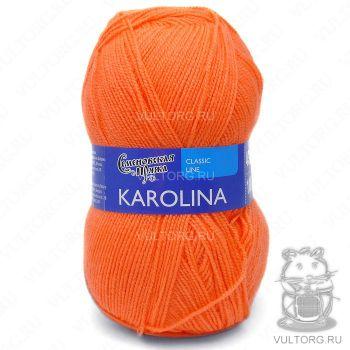 Каролина, Семеновская пряжа, цвет № 142 (Апельсин)