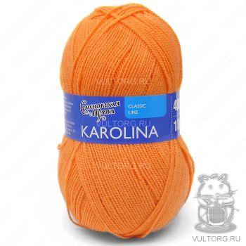 Каролина, Семеновская пряжа, цвет № 10744 (Ярко-оранжевый new)