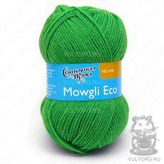 Маугли Эко, Семеновская пряжа, цвет № 47 (Ярко-зеленый)