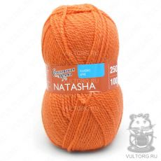 Наташа ПШ, Семеновская пряжа, цвет № 670 (Морковный)