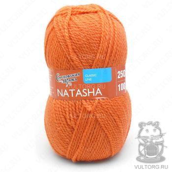 Семеновская пряжа Наташа ПШ, цвет № 670 (Морковный)