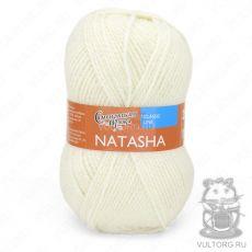 Наташа ПШ, Семеновская пряжа, цвет № 964 (Ультра белый)