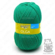 Ольга ПШ, Семеновская пряжа, цвет № 70920 (Зеленая бирюза)