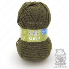 Суфле, Семеновская пряжа, цвет № 10938 (Хаки)