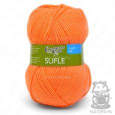 Суфле, Семеновская пряжа, цвет № 142 (Апельсин)