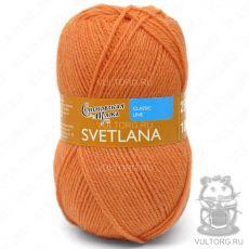 Светлана ПШ, Семеновская пряжа, цвет № 670 (Морковный)