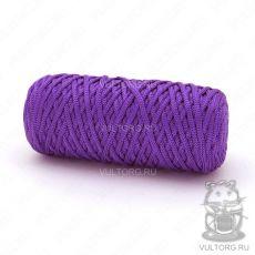 Шнур полиэфирный 5 мм, цвет № 1602 (Фиолетовый)