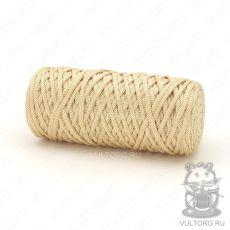 Шнур полиэфирный 5 мм, цвет № 208 (Золото)