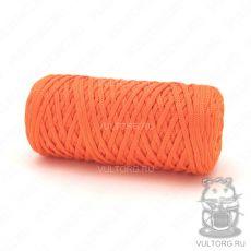 Шнур полиэфирный 5 мм, цвет № 211 (Оранжевый)