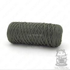 Шнур полиэфирный 5 мм, цвет № 406 (Хаки)