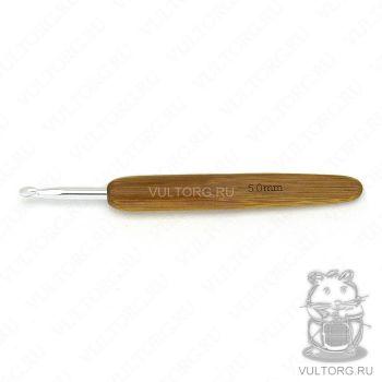 Крючок с бамбуковой ручкой 5.0 мм