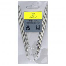 Носочные спицы гибкие 23 см 3.5 мм
