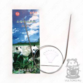 Круговые спицы 80 см 2.5 мм (Панда-12)