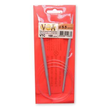 Круговые спицы 100 см 5.5 мм (VTC)