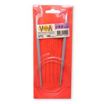 Круговые спицы 100 см 6.5 мм (VTC)