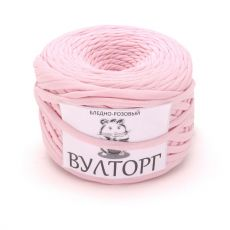 Трикотажная пряжа, цвет Бледно-розовый