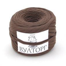 Трикотажная пряжа, цвет Какао