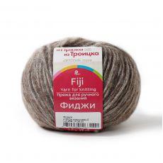 Пряжа из Троицка Фиджи, цвет № 416 (Св. коричневый)