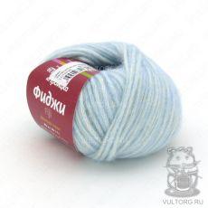 Пряжа из Троицка Фиджи, цвет № 8359 (Талая вода меланж)