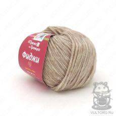 Пряжа Фиджи из Троицка, цвет № 8364 (Кремовый меланж)