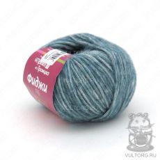 Пряжа Фиджи из Троицка, цвет № 8523 (Синее море меланж)