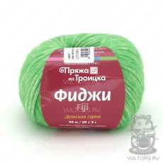Пряжа из Троицка Фиджи, цвет № 8520 (Яркий салат меланж)