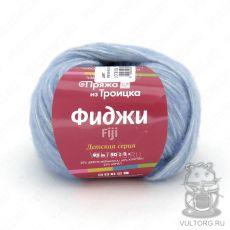 Пряжа из Троицка Фиджи, цвет № 8522 (Светло голубой меланж)