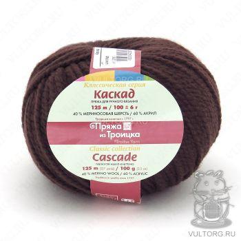 Пряжа из Троицка Каскад, цвет № 0412 (Шоколад)