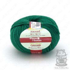 Пряжа Каскад из Троицка, цвет № 2286 (Зелёный луг)