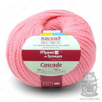 Пряжа из Троицка Каскад, цвет № 0160 (Розовый)