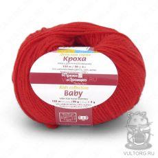 Пряжа Кроха из Троицка, цвет № 0042 (Красный)