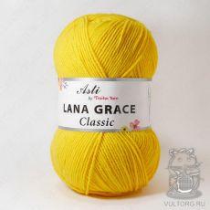 Пряжа из Троицка Лана Грейс Классик, цвет № 0123 (Холодный-желтый)