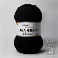 Пряжа из Троицка Лана Грейс Классик, цвет № 0140 (Черный)