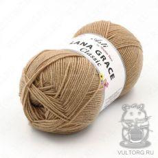 Пряжа из Троицка Лана Грейс Классик, цвет № 0192 (Песочный)