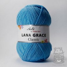 Пряжа из Троицка Лана Грейс Классик, цвет № 0300 (Светло-голубой)