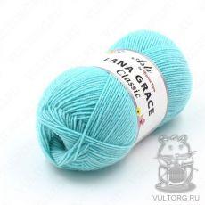 Пряжа из Троицка Лана Грейс Классик, цвет № 0840 (Айсберг)