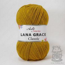 Пряжа из Троицка Лана Грейс Классик, цвет № 1268 (Горчица)