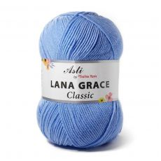 Пряжа из Троицка Лана Грейс Классик, цвет № 2820 (Воздушно-голубой)