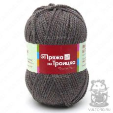 Пряжа Меланж из Троицка, цвет № 3029 (Баклажан)