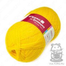 Пряжа из Троицка Новая Москва, цвет № 0596 (Желтый)