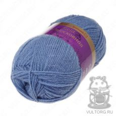 Пряжа из Троицка Подмосковная Голд, цвет № 2030 (Пепельно-голубой)