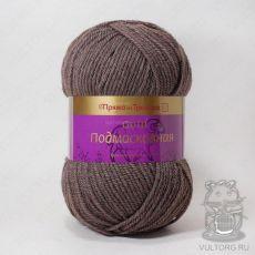 Пряжа из Троицка Подмосковная Голд, цвет № 8275 (Кофе меланж)