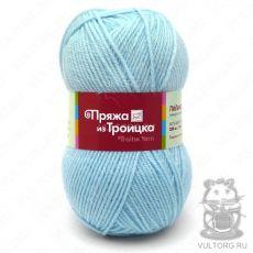 Пряжа Подмосковная из Троицка, цвет № 0276 (Бледно-голубой)