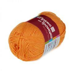 Пряжа из Троицка Сакура, цвет № 2410 (Апельсин)