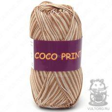 Пряжа Vita Cotton Coco print, цвет № 4679 (Бежевый меланж)