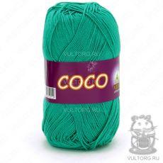 Пряжа Vita Cotton COCO, цвет № 4310 (Зеленая бирюза)