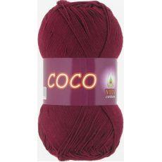 Пряжа Vita Cotton COCO, цвет № 4332 (Винный)