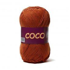 Пряжа Vita Cotton COCO, цвет № 4336 (Терракот)