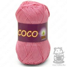 Пряжа COCO Vita Cotton - цвет № 3854 (Розовый)