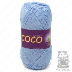 Пряжа Vita Cotton COCO, цвет № 4323 (Светло-голубой)